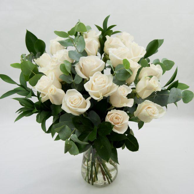 ramo de 20 rosas vendela